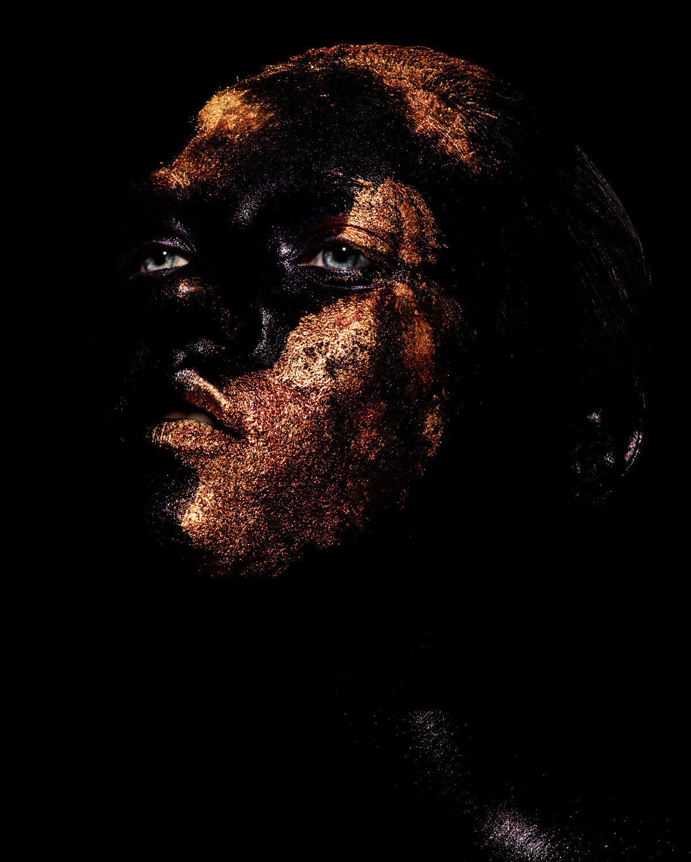 model: anna fedorovna make-up: loni baur