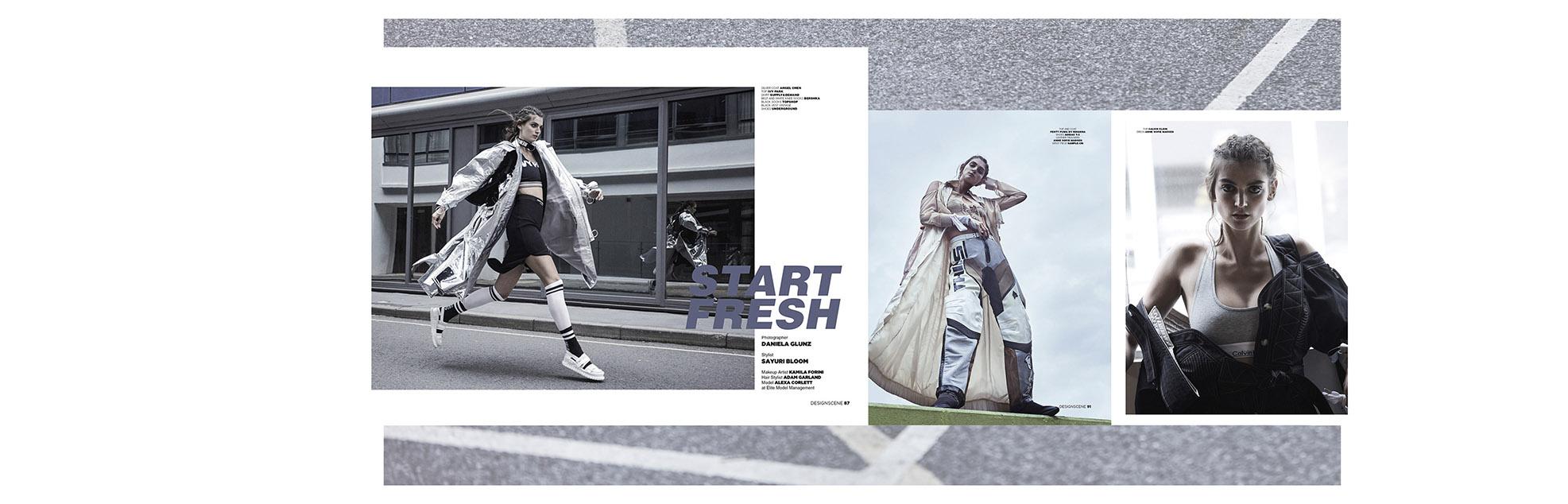 D´Scene - start fresh